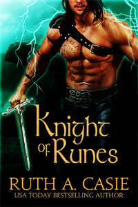 Knight of Runes -- Ruth A. Casie